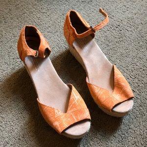 Toms Wedge Heels